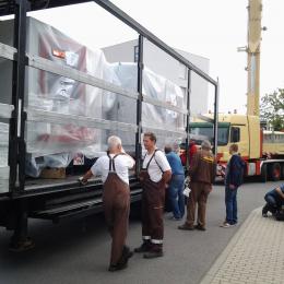 Kranentladung Markkleeberg